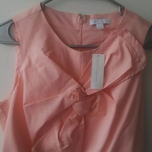 NWT New York & Company Pale Pink Sleeveles Top